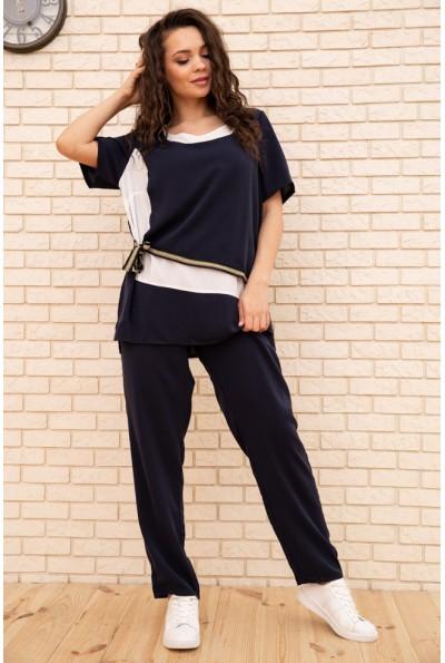 Спорт костюм женский 104R116 цвет Темно-синий 55152
