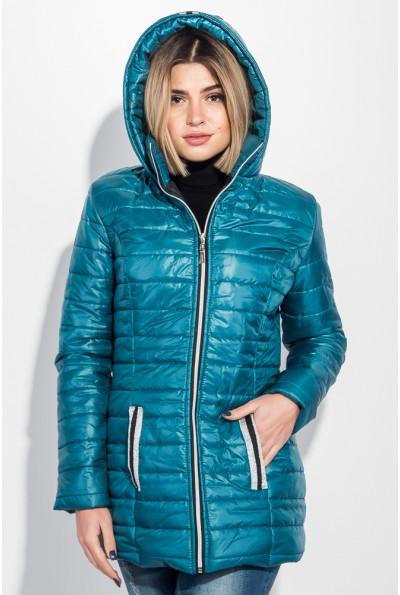 Куртка женская зимняя 111R002 цвет Лазурный