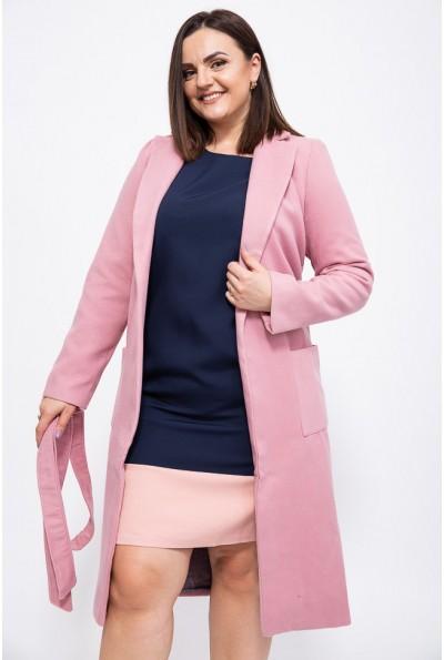 Пальто женское 153R622 цвет Розовый
