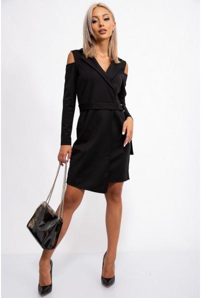 Платье женское 112R464 цвет Черный