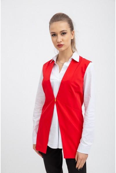 Жилет женский 115R253 цвет Красный