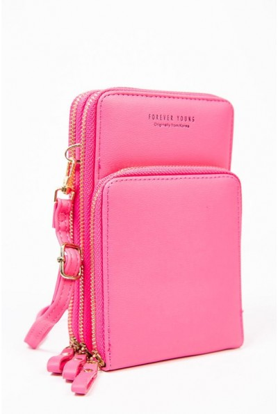 Сумка-клатч 154R405 цвет Розовый 57041