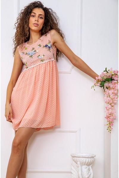 Платье  цвет персиковый 167R1226 59266