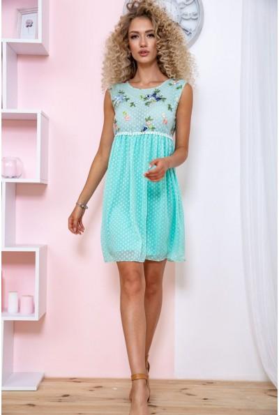 Платье  цвет мятный 167R1226 59264