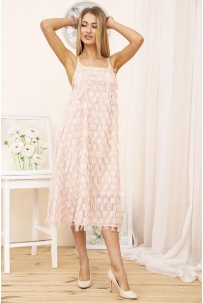 Платье 104R287 цвет Пудровый