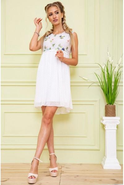Платье 167R1226 цвет Белый 59258