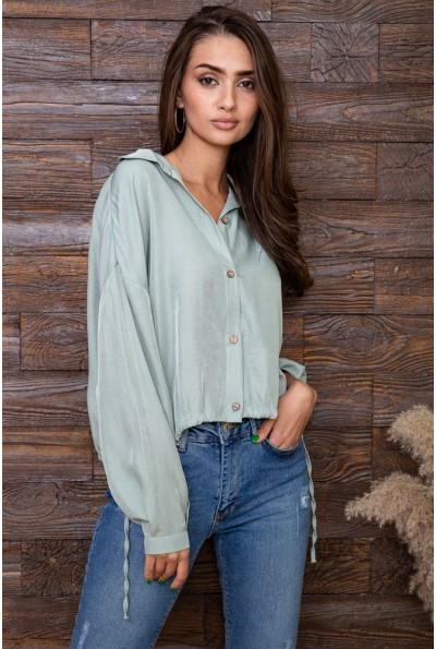 Блуза женская  цвет оливковый 115R434-3 66328