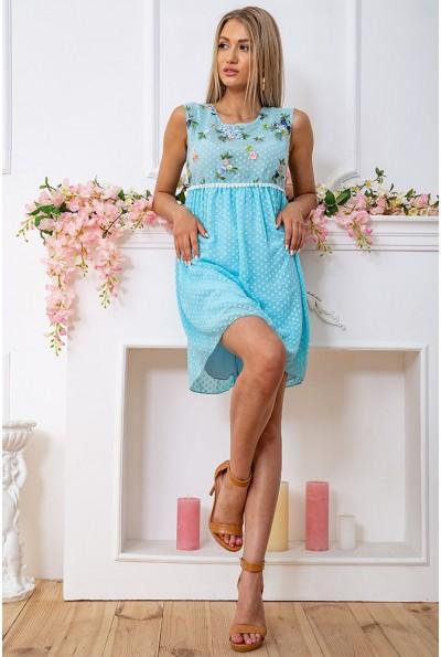 Платье 167R1226 цвет Голубой 59260
