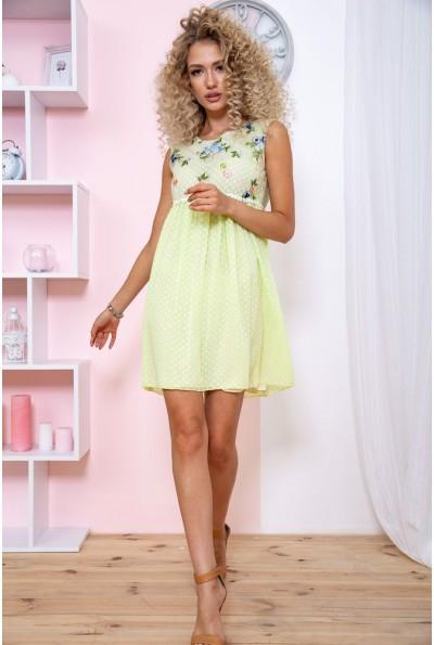 Платье 167R1226 цвет Салатовый 59268