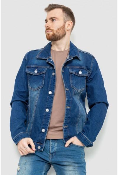 Джинсовая куртка мужская 157R4598 цвет Синий 53513