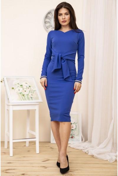Платье 167R954-2 цвет Электрик