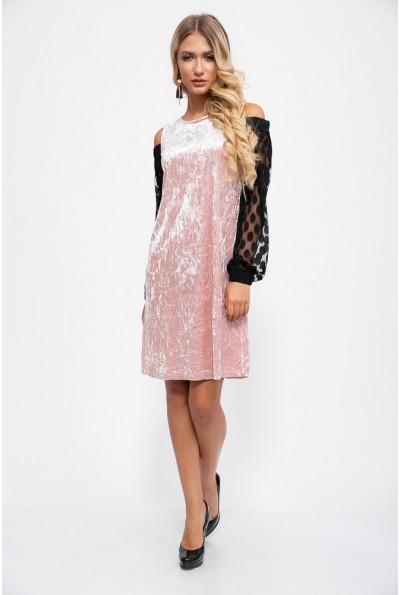 Платье женское 115R204 цвет Розовый