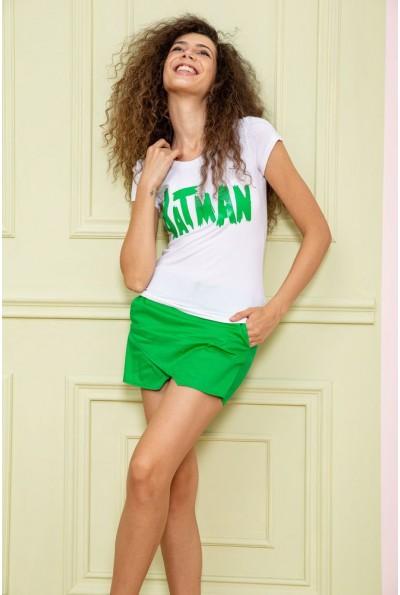 Костюм женский  цвет бело-зеленый 179R322 64373
