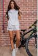 Купить Костюм женский  цвет белый 180R10-1 63906