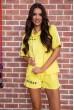 Купить Костюм женский  цвет желтый 180R10-1 63908