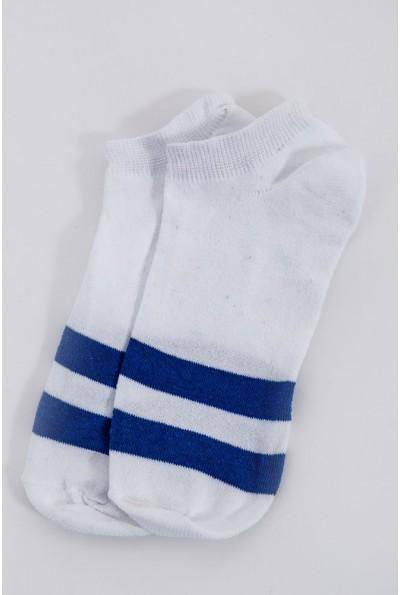 Носки женские спортивные  131R1920 цвет Бело-синий 60320