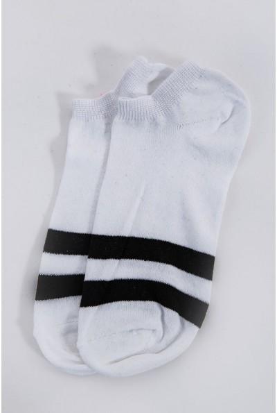 Носки женские спортивные  131R1920 цвет Бело-черный 60322