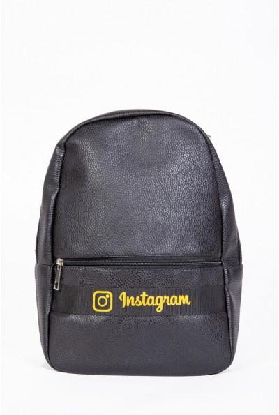 Рюкзак  Instagram 154R003-43-1 цвет Черно-желтый 56973