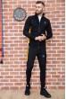 Спорт костюм мужской 154R100-01 цвет Черный недорого