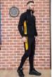 Спорт костюм мужской 154R100-01 цвет Черный цена 2719.0000 грн