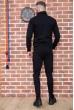 Спорт костюм мужской 154R100-01 цвет Черный скидка