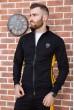 Спорт костюм мужской 154R100-01 цвет Черный акция