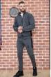 Спорт костюм мужской 154R100-01 цвет Серый недорого