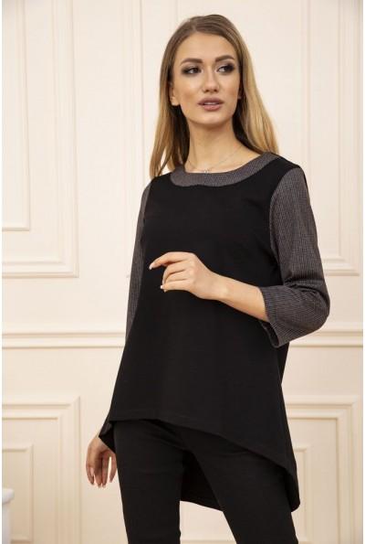 Кофта женская 102R152 цвет Черно-коричневый