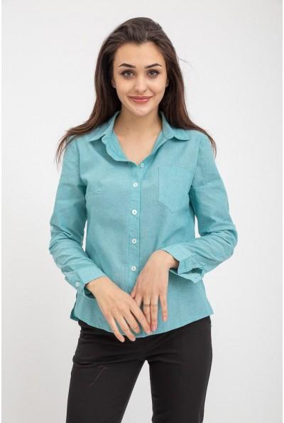 Рубашка женская 115R3180 цвет Мятный