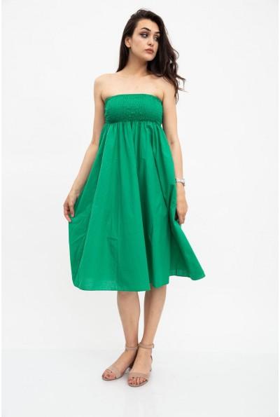 Сарафан женский зеленый 115R6F
