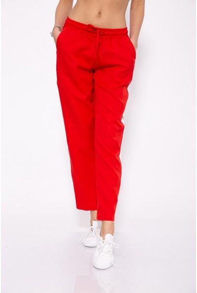 Красные брюки женские повседневные 115R223D