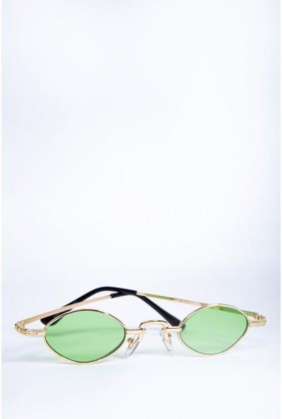 Очки женские  солнцезащитные   цвет зеленый 154R9941 62138