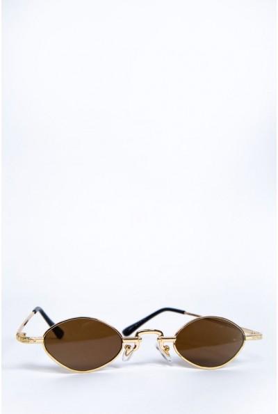 Очки женские  солнцезащитные   цвет коричневый 154R9941 62142