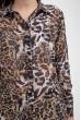 Блуза женская 115R3411W цвет Тигровый скидка