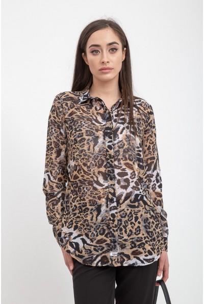 Блуза женская 115R3411W цвет Тигровый