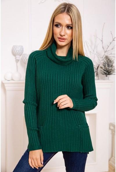 Свитер женский 131RQ380 цвет Зеленый