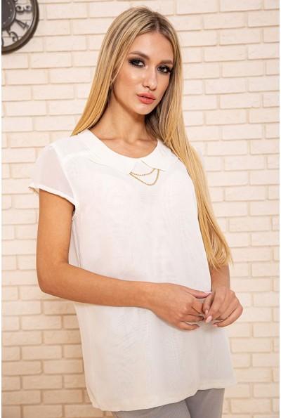 Блуза женская 115R2101 цвет Молочный