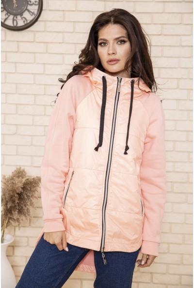 Куртка женская 102R165 цвет Персиковый