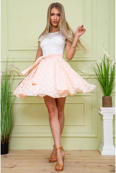 Платье 167R893 цвет Персиковый 59444