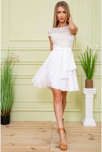 Платье 167R893 цвет Молочный 59440