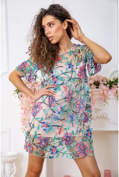 Платье 167R1230 цвет Пудрово-зеленый 59348