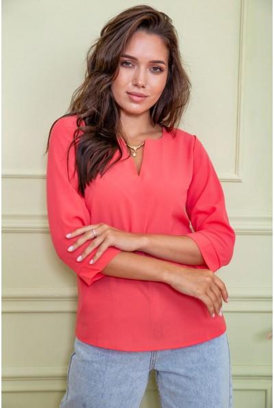 Блуза женская 172R4-1 цвет Коралловый 61556