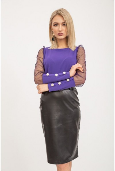 Блуза женская 119R0421 цвет Фиолетовый