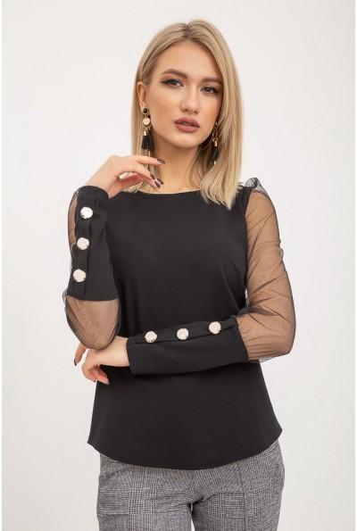 Блуза женская 119R0421 цвет Черный