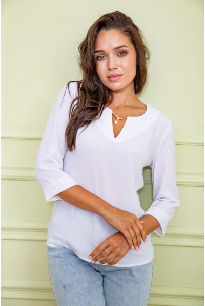 Блуза женская 172R4-1 цвет Белый 61554