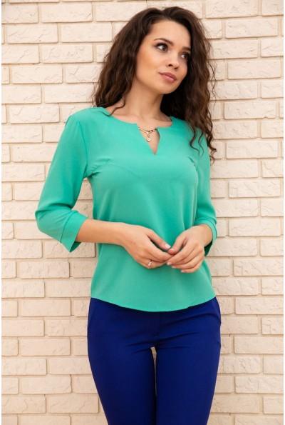 Блуза женская  цвет зеленый 172R4-1 56997