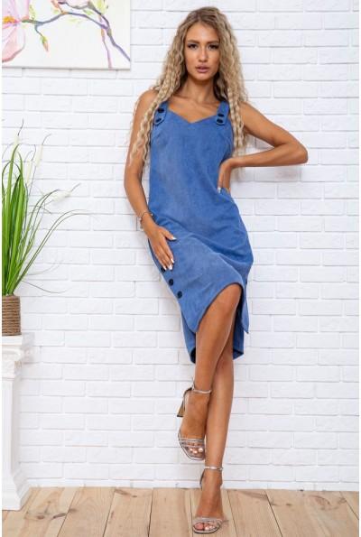 Платье-сарафан  цвет джинс 104R005-2 63410
