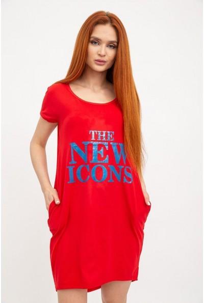Туника женская 119R131 цвет Красный