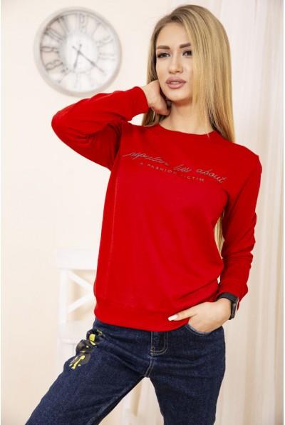 Свитшот женский 138R2047 цвет Красный
