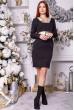 Платье 104R032 цвет Черный недорого